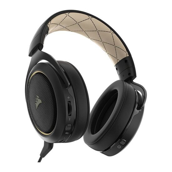 CORSAIR HS70SE Wireless 7.1 Gaming Headset - Black & Gold