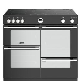 STOVES Sterling S1000Ei BK 100 cm Electric Induction Range Cooker