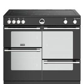 STOVES Sterling S1000Ei BK 100 cm Electric Induction Range Cooker