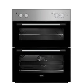 LOGIK LBUDOX18 Electric Built-under Double Oven - Silver Reviews