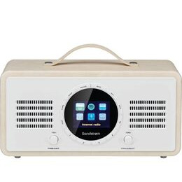 SANDSTROM SL-IBTC18 Portable DAB+/FM Smart Bluetooth Radio - Cream Reviews
