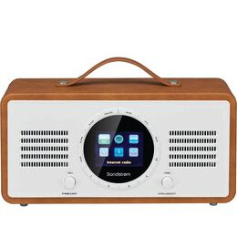 SANDSTROM SL-IBTB18 Portable DAB+/FM Smart Bluetooth Radio - Brown Reviews