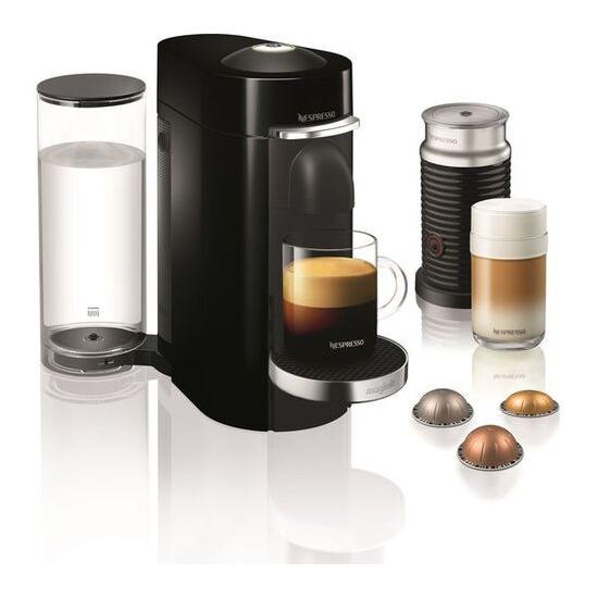 Magimix 11387 Vertuo Plus Coffee Machine with Aeroccino - Piano Black