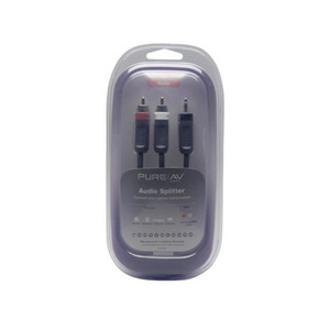 Photo of Belkin PureAV Audio Splitter - 1 Metre Adaptors and Cable
