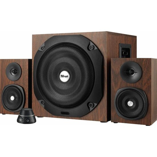 TRUST Vigor 2.1 PC Speakers - Brown