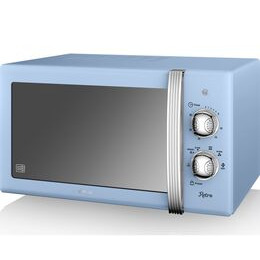 SWAN SM22130BLN Solo Microwave - Blue Reviews