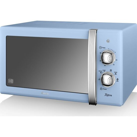 SWAN SM22130BLN Solo Microwave - Blue