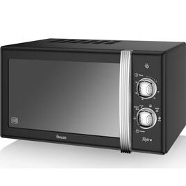 SWAN SM22130BN Solo Microwave - Blue Reviews