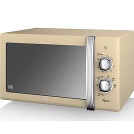 SWAN SM22130CN Solo Microwave - Cream Reviews
