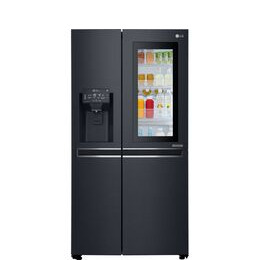LG GSX960MTAZ American-Style Smart Fridge Freezer - Matte Black Reviews