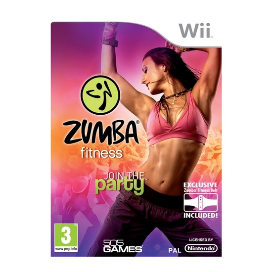 NINTENDO Zumba Fitness - for Nintendo Wii