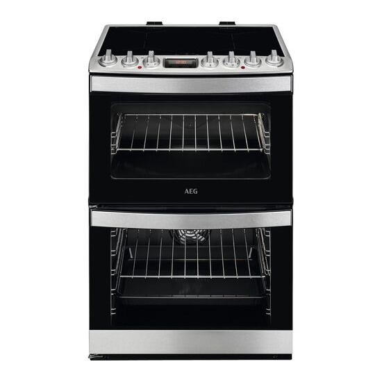AEG CIS6741ECM 60 cm Electric Induction Cooker - Stainless Steel