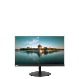 "Lenovo ThinkVision T24i 23.8"" Full HD LED Flat Black computer monitor"