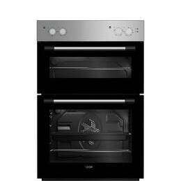 LOGIK LBIDOX18 Electric Double Oven - Silver Reviews