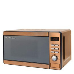 Russel Hobbs RHMD804CP Compact Solo Microwave - Copper Reviews