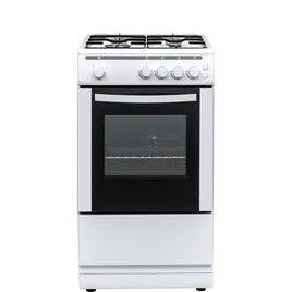ESSENTIALS CFSGWH18 50 cm Gas Cooker - White Reviews