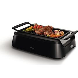 Philips Smokeless HD6370/91 Family Grill - Black Reviews