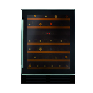 Photo of Benk BWC600SS Black and Steel Built In Wine Cooler Mini Fridges and Drinks Cooler