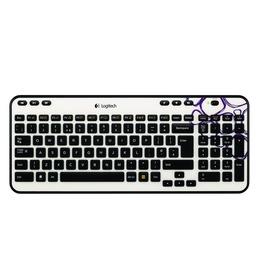 Logitech K360 Wireless Keyboard - Black and White Reviews