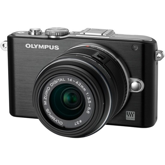 Olympus PEN E-PL3 and 14-42mm lens