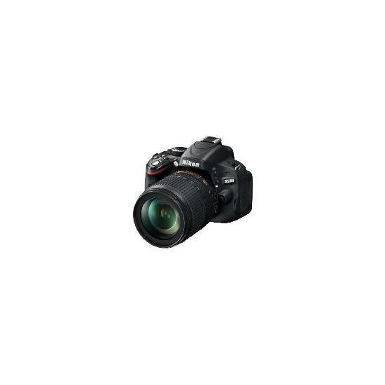 Nikon D5100 with 18-105mm VR lens