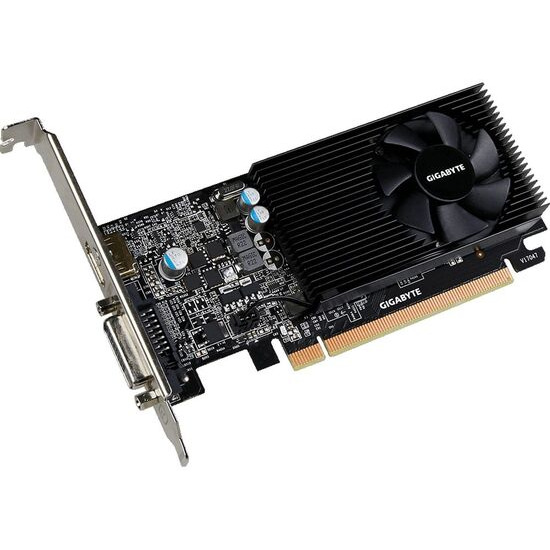GIGABYTE GeForce GT 1030 2 GB Low Profile Graphics Card