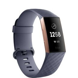 FITBIT Charge 3 - Blue Grey & Rose Gold Universal Reviews
