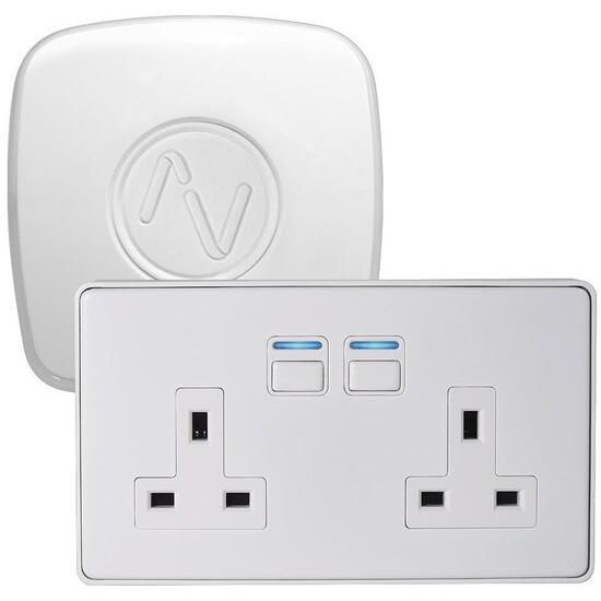 Lightwave Power Starter Kit (Smart Series) White Metal