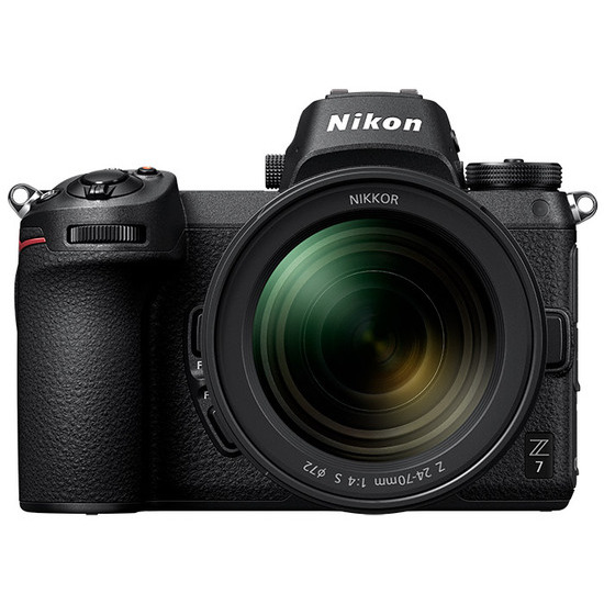 Nikon Z 7 Mirrorless Camera with NIKKOR Z 24-70mm f4 S Lens and Mount Adapter FTZ