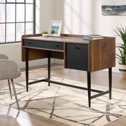 Teknik Hampstead Park Compact Desk - Grand Walnut