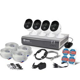 SWANN SWDVK-845804V 8-Channel Full HD 1080p Smart Security System - 1 TB 4 Cameras Reviews
