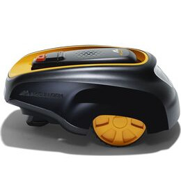 MCCULLOCH ROB R1000 Cordless Robot Lawn Mower - Black & Yellow