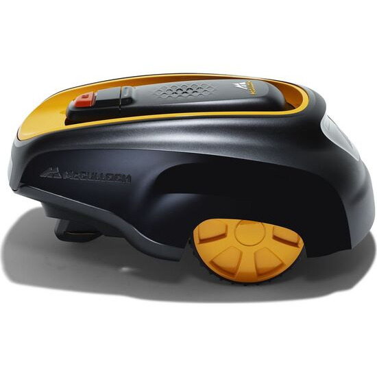 MCCULLOCH ROB R600 Cordless Robot Lawn Mower - Black & Yellow