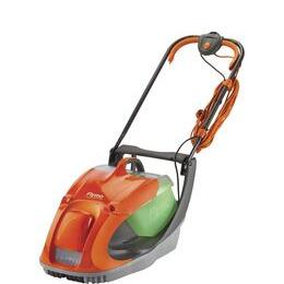 FLYMO Glider 330 Corded Hover Lawn Mower - Orange & Grey