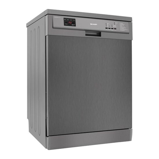 Sharp QW-DX26F41A Full-size Dishwasher - Stainless Steel