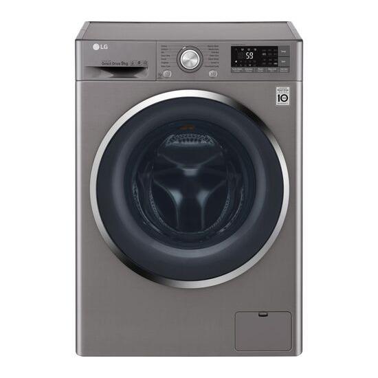 LG FH4U2TDN2S Smart 8 kg 1400 Spin Washing Machine - Graphite