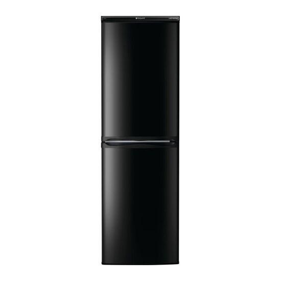 Hotpoint HBD 5517 B UK 50/50 Fridge Freezer - Black
