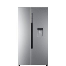 Haier HRF-522WS6 American-Style Fridge Freezer - Silver Reviews