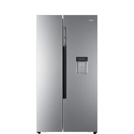 Haier HRF-522WS6 American-Style Fridge Freezer - Silver Reviews