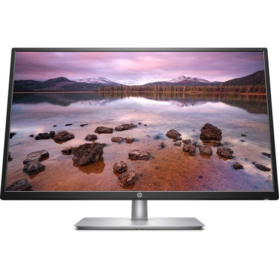 HP 32s Full HD 31.5 IPS LCD Monitor - Black & Silver