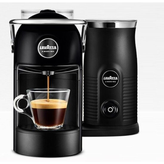 Lavazza Jolie & Milk Coffee Machine - Black