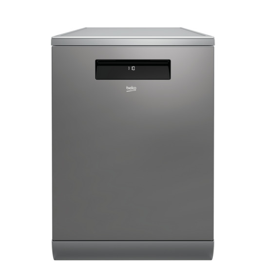 Beko AutoDose DEN59420DX Full-size Smart Dishwasher - Stainless Steel