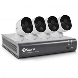Swann 1080p 8Channel 1TB DVR and 4 Heat-Sensing Camera CCTV Kit Reviews
