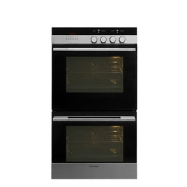 FISHER & PAYKEL OB60DDEX3 Electric Double Oven - Black & Stainless Steel Reviews