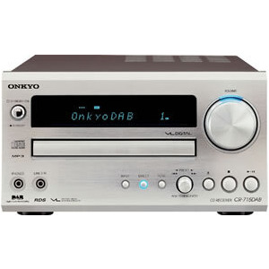 Photo of ONKYO CR515DAB CD RECEIVER SILVER Receiver