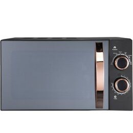 Russel Hobbs RHM1727RG Compact Solo Microwave - Black & Rose Gold Reviews