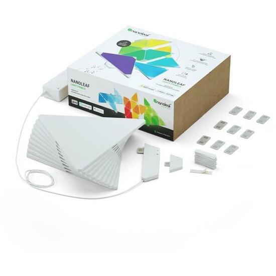 Nanoleaf Light Panels Rhythm 9 Piece Smarter Kit