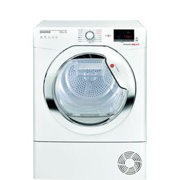 Hoover Dynamic Next DX HY10A2TKE Smart 10 kg Heat Pump Tumble Dryer - White with Tinted Door Reviews