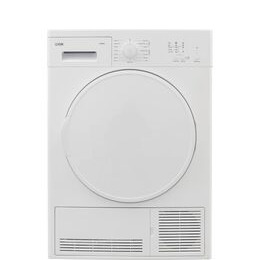 Logik LCD8W18 8 kg Condenser Tumble Dryer - White Reviews