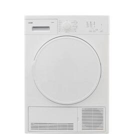 Logik LCD8W18 8 kg Condenser Tumble Dryer - White Reviews